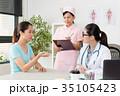 医師 医者 女性の写真 35105423