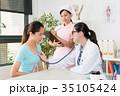 医師 医者 女性の写真 35105424