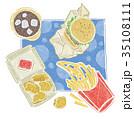 連鎖速食  漢堡 可樂  雞塊 薯條 35108111
