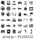 アイコン 標識 看板のイラスト 35108232