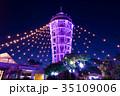 江ノ島 ライトアップ イルミネーションの写真 35109006