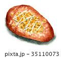 総菜パン 調理パン パンのイラスト 35110073