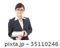 女性 人物 ビジネスウーマンの写真 35110246