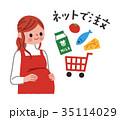 妊婦 ネット注文 35114029
