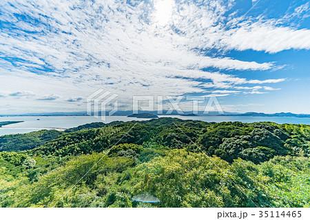 潮見公園  展望台からの眺め 35114465