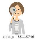 人物 女性 ママのイラスト 35115746
