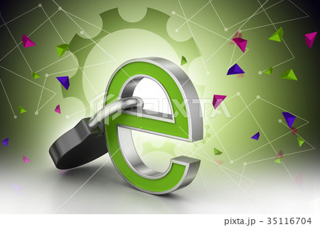 Internet security concept 35116704