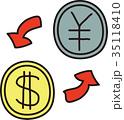 円とドル 両替 35118410