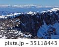 八ヶ岳 雪山 硫黄岳の写真 35118443
