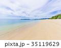 フサキビーチ ビーチ 海の写真 35119629