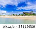 フサキビーチ ビーチ 海の写真 35119689