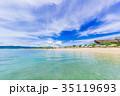 フサキビーチ ビーチ 海の写真 35119693