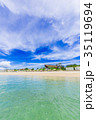 フサキビーチ ビーチ 海の写真 35119694