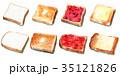 パン 水彩 食パンのイラスト 35121826