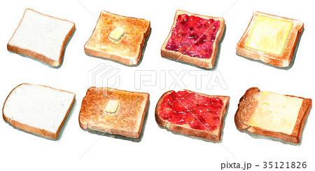 食パンとトースト8種類 35121826