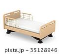 介護ベッド 3Dイラスト 35128946