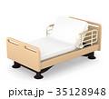 介護ベッド 3Dイラスト 35128948