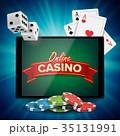 オンライン カジノ カジノののイラスト 35131991
