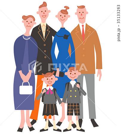 3世代家族 35133263