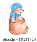くま クマ 熊のイラスト 35133414