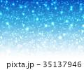 背景 青 キラキラのイラスト 35137946