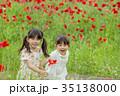 子供 姉妹 女の子の写真 35138000