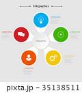 Infographics design vector illustration 35138511