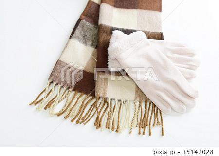おしゃれな手袋とマフラーの写真素材 [35142028] - PIXTA