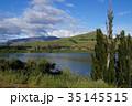 ニュージーランド南島のダンスタン湖 35145515