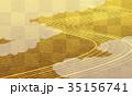 ベクター 背景 金のイラスト 35156741
