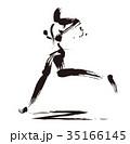 マラソンランナー 35166145