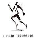 マラソンランナー 35166146
