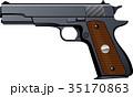 拳銃 ピストル 鉄砲 35170863