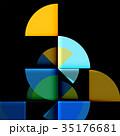 抽象的 背景 デザインのイラスト 35176681