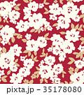 花 花柄 植物のイラスト 35178080