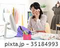 仕事をするファッションデザイナー 35184993