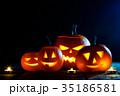 ハロウィン かぼちゃ カボチャの写真 35186581