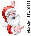 さんた サンタ サンタクロースのイラスト 35189488