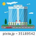 ベクトル 事務室 エクステリアのイラスト 35189542