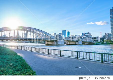 隅田川ウォーターフロント 勝鬨橋 35190270