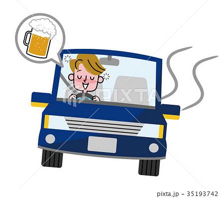 飲酒運転 男性 35193742