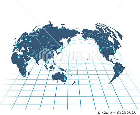 ビジネス背景 ビジネス ビジネス拡大 日本地図 世界地図 の