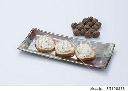 クルミのクリームチーズ和え 35196858