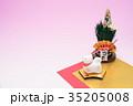 戌 犬 門松の写真 35205008