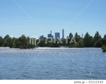 貯水池となった、大宮第二公園 35212593