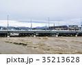 台風 朝 濁流の写真 35213628