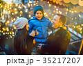 クリスマス 市 マーケットの写真 35217207