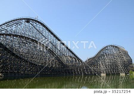 木製コースター橋脚 35217254