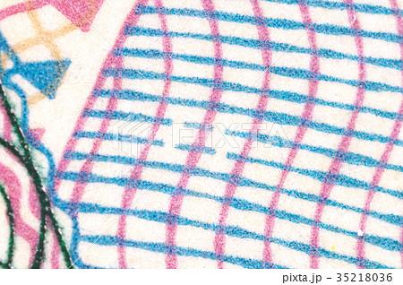 千円札の隠し文字「ニホン」(おもて面) マイクロ文字 日本円の紙幣 35218036