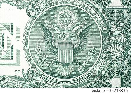 アメリカ 1ドル札(白頭鷲) 35218336